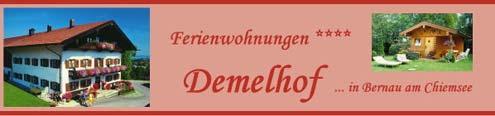 Demelhof in Bernau am Chiemsee.